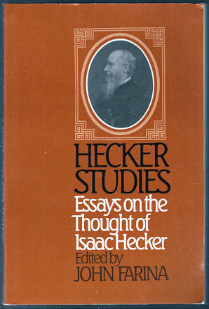 Image for Hecker Studies : Essays on the Thought of Isaac Hecker