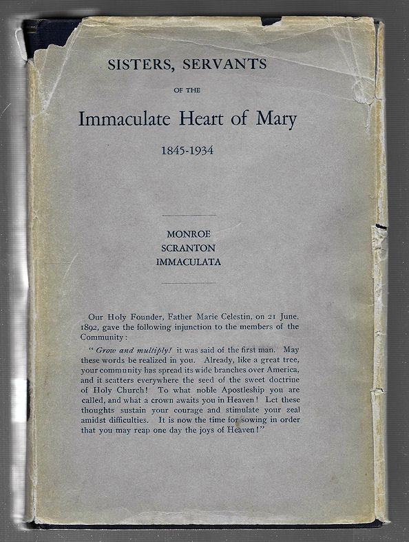 Image for Sisters, Servants of the Immaculate Heart of Mary (1845-1934) with Life and Letters of Our Founder Reverend Louis Florent Gillet